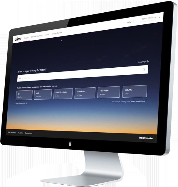 InsightMaker iMac Mockup
