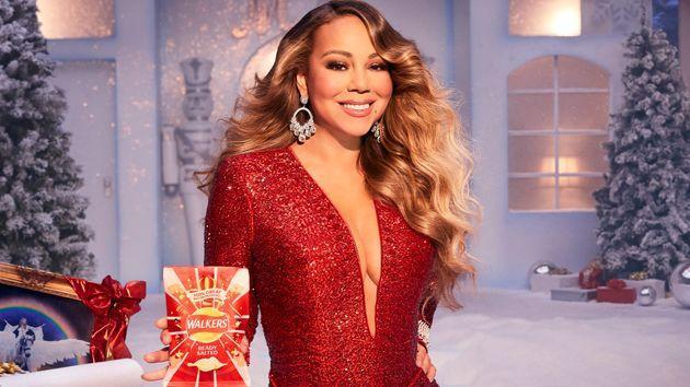 Mariah Carey for Walkers Crisps